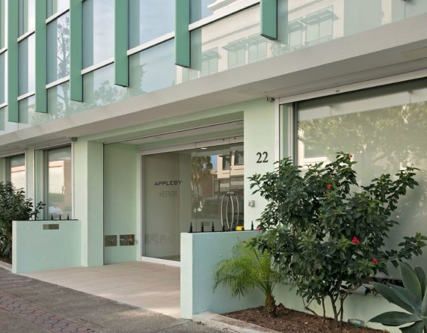 Caption: The offices of Appleby, an offshore law firm, in Hamilton, Bermuda. The company is at the center of leaked documents being called the Paradise Papers. Credit: Meredith Andrews for The New York Times
