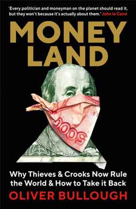 Cover of Moneyland by Oliver Bullogh