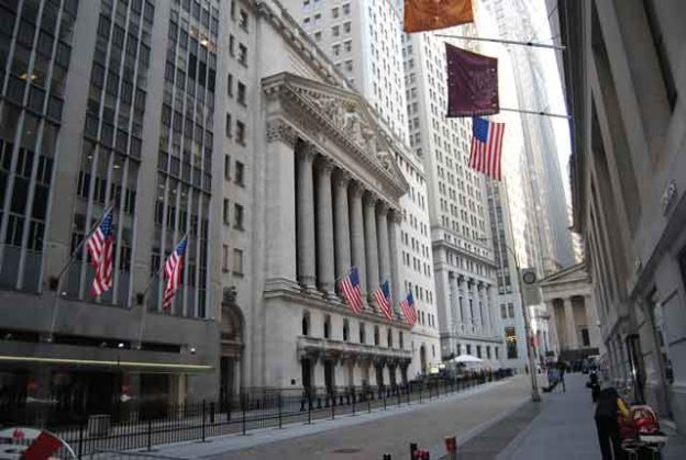 Photo: Wall Street and the New York Stock Exchange.