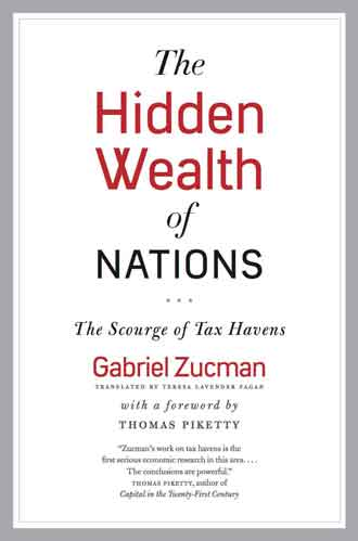 Cover of The Hidden Wealth of Nations Credit: University of Chicago Press