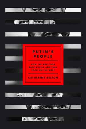 Cover of Putin's People by Catherine Belton