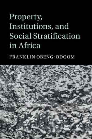Cover of Property, Institutions and Social Stratification in Africa by Franklin Obeng-Odoom